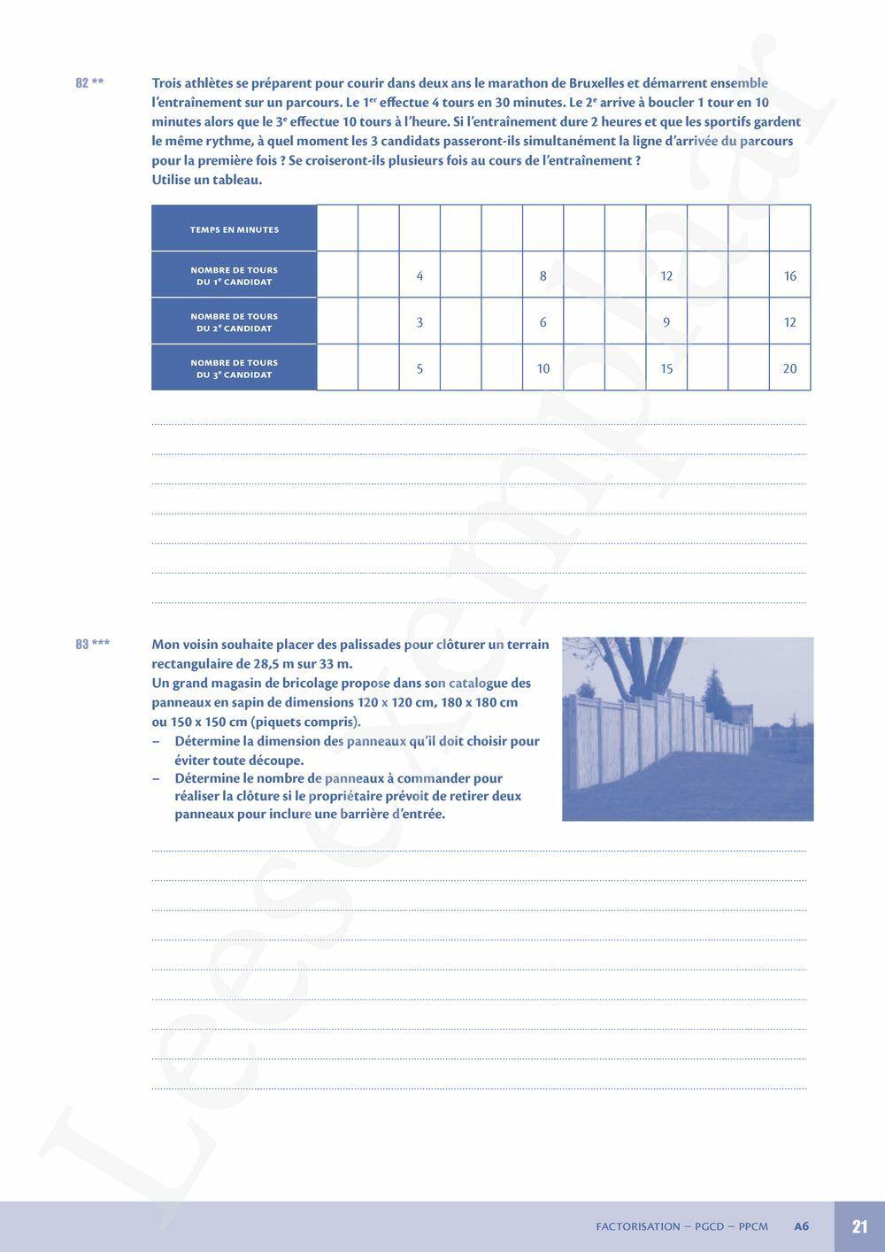 Preview: Néomath 2 Livre d'exercices (Parcours, Mémo et Pelckmans Portail inclus)