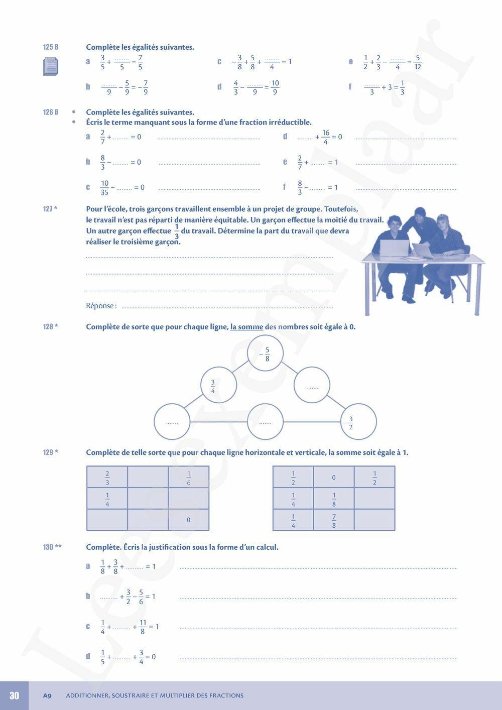 Preview: Néomath 2 Livre d'exercices (Parcours et Mémo inclus)