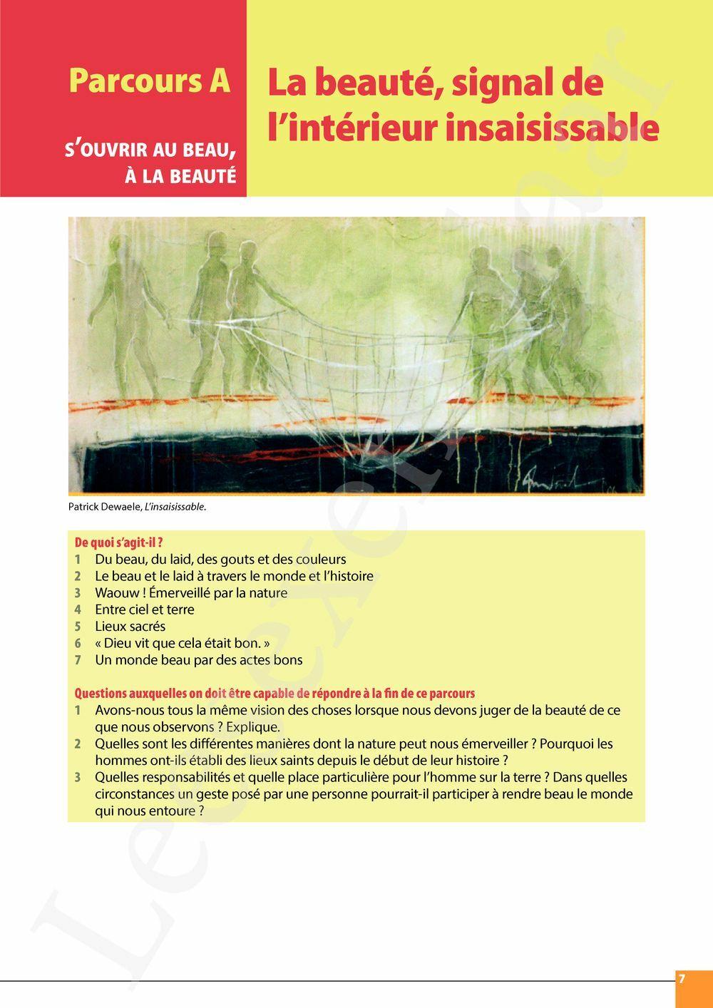 Preview: Parcours 2 livre de l'élève (Mon référentiel des religions du monde et Pelckmans Portail inclus)