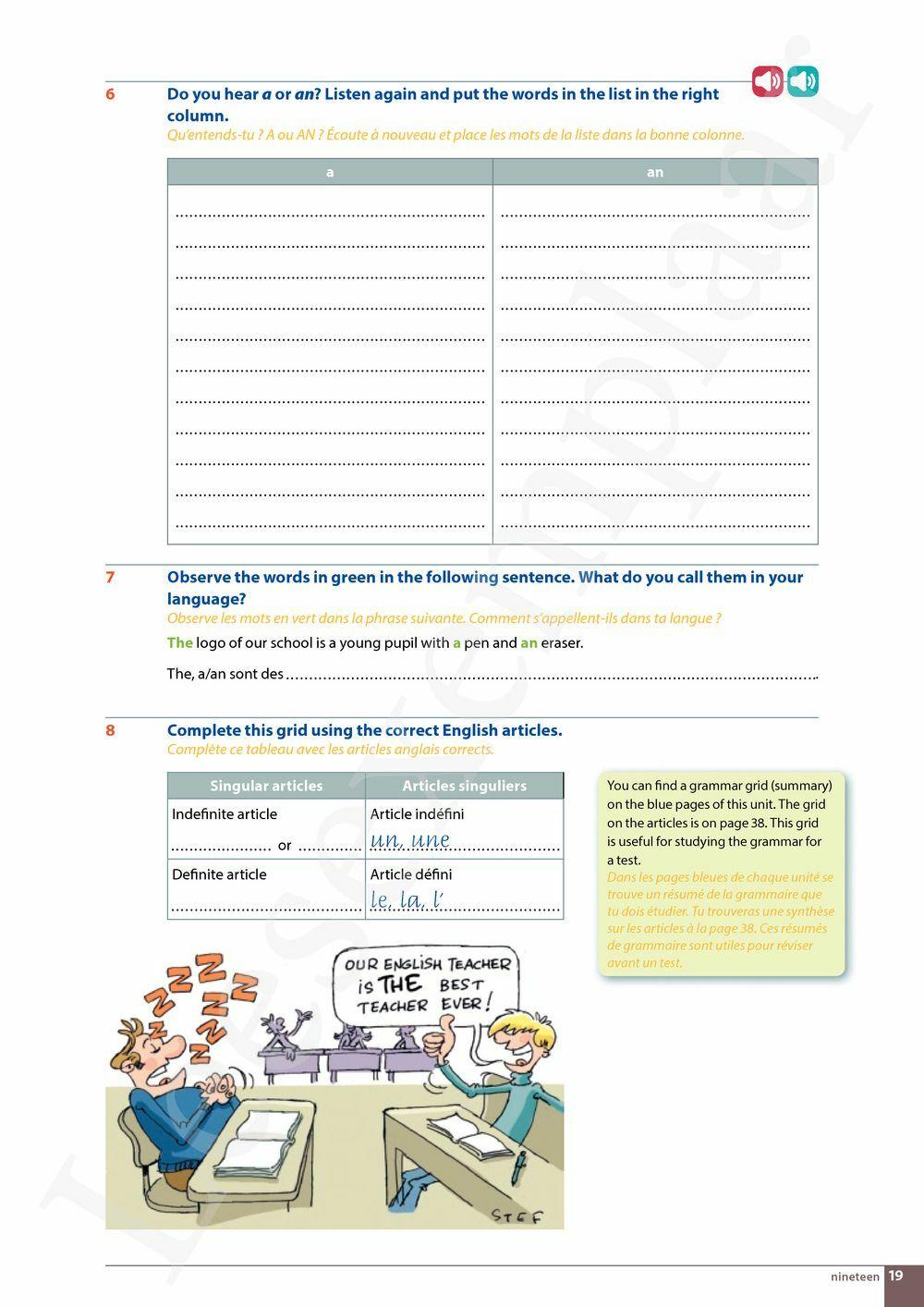 Preview: Step up 1 Livre de l'élève (MAG et livret ressources inclus)