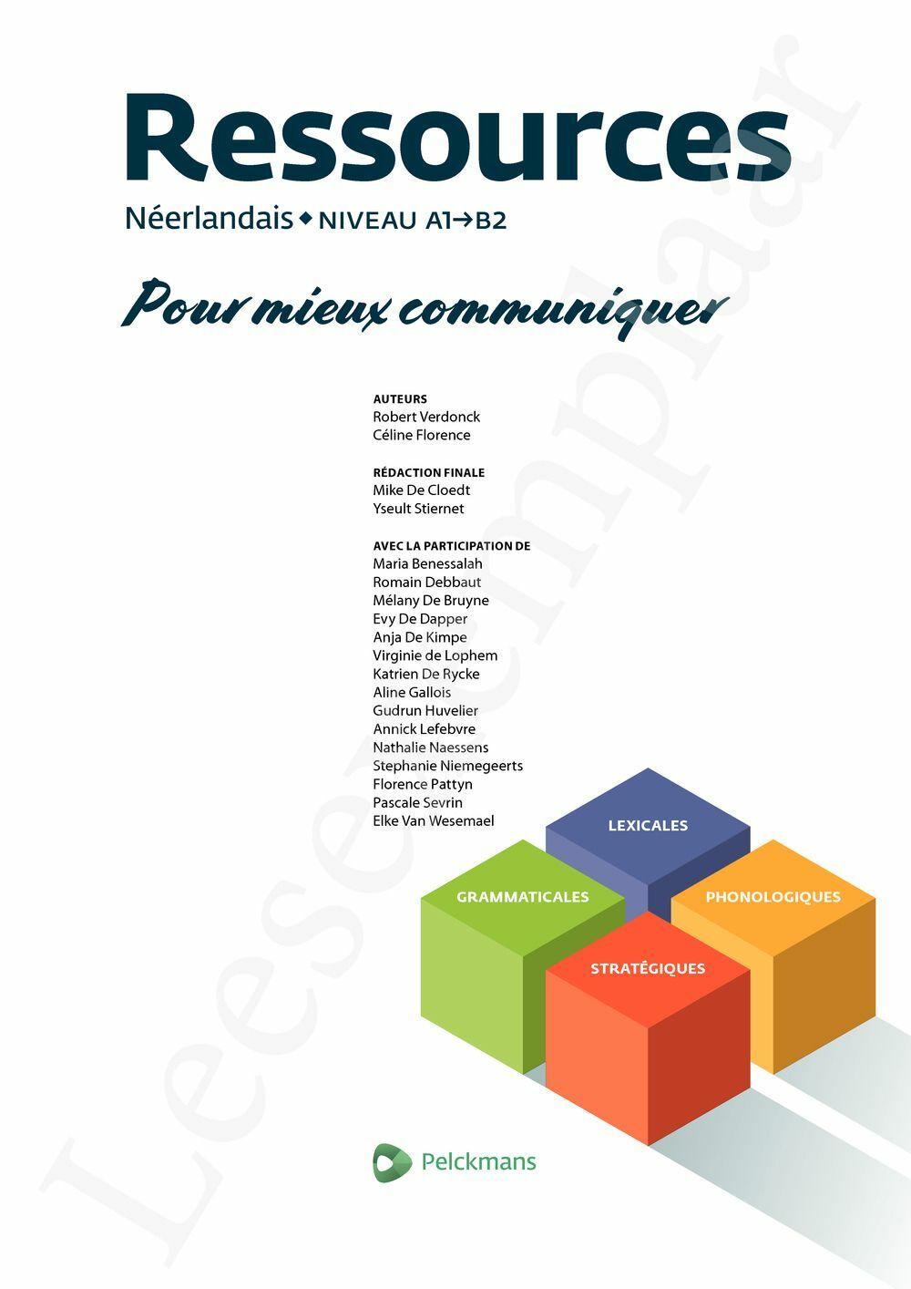 Preview: Ressources Néerlandais (Pelckmans Portail inclus)