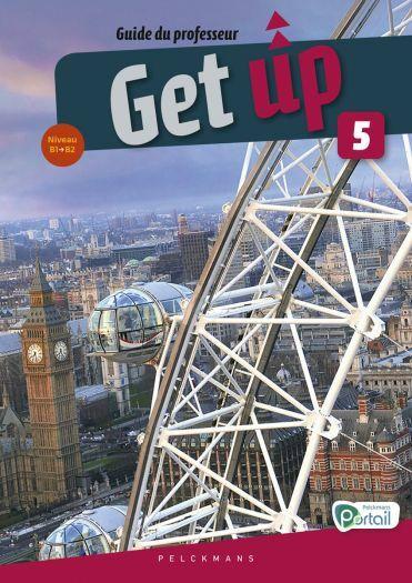 Get up 5 Guide du professeur (Chatcards, Pelckmans Portail et livre numérique inclus)
