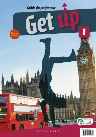 Get up 1 Guide du professeur (Chatcards, posters, Pelckmans Portail et livre numérique inclus)