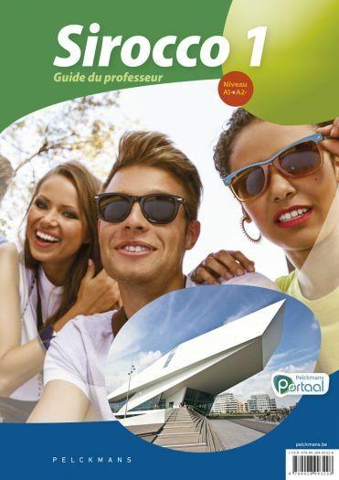 Sirocco 1 Guide du professeur (Babbelkaarten, posters, Pelckmans Portail et livre numérique inclus)