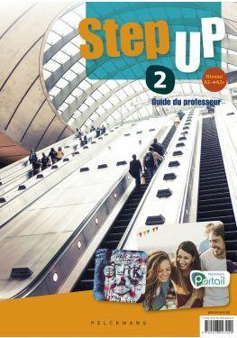 Step up 2 Guide du professeur (Chatcards, posters, Pelckmans Portail et livre numérique inclus)